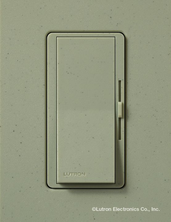 Try Lutrons Dimmer From The Diva Product Line In The Greenbriar Gb Satin Color For Your Home Lutron Dim Lutron Ceiling Fan Accessories Light Dimmer Switch