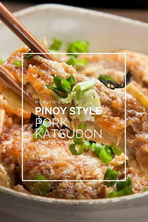 Pinoy style pork katsudon easy and yummy pork katsudon relax lang pinoy style pork katsudon easy and yummy pork katsudon relax lang mom filipino food forumfinder Gallery