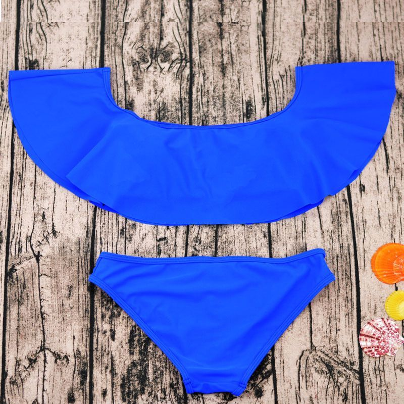 Free Shipping Forever!  ?    http://busydayshopping.myshopify.com/products/blue-ruffle-bandeau-bikini-set?utm_campaign=social_autopilot&utm_source=pin&utm_medium=pin