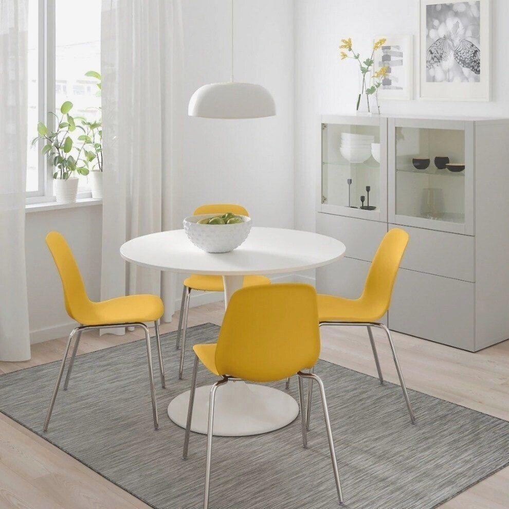 Ikea Docksta Table Ite White En 2020 Petite Table A Manger Decoration De Table Salle A Manger Table A Manger Ikea