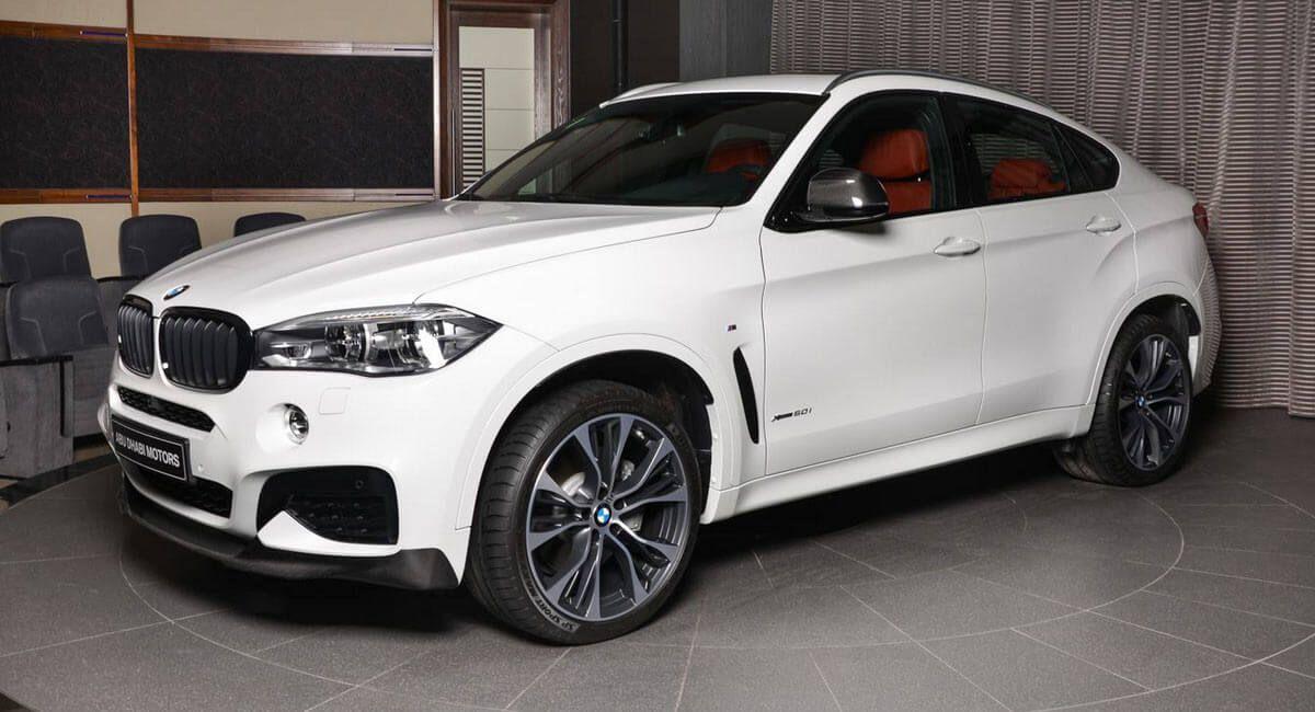 White Bmw X6 Flaunts M Performance Kit And Custom Exhaust Suv