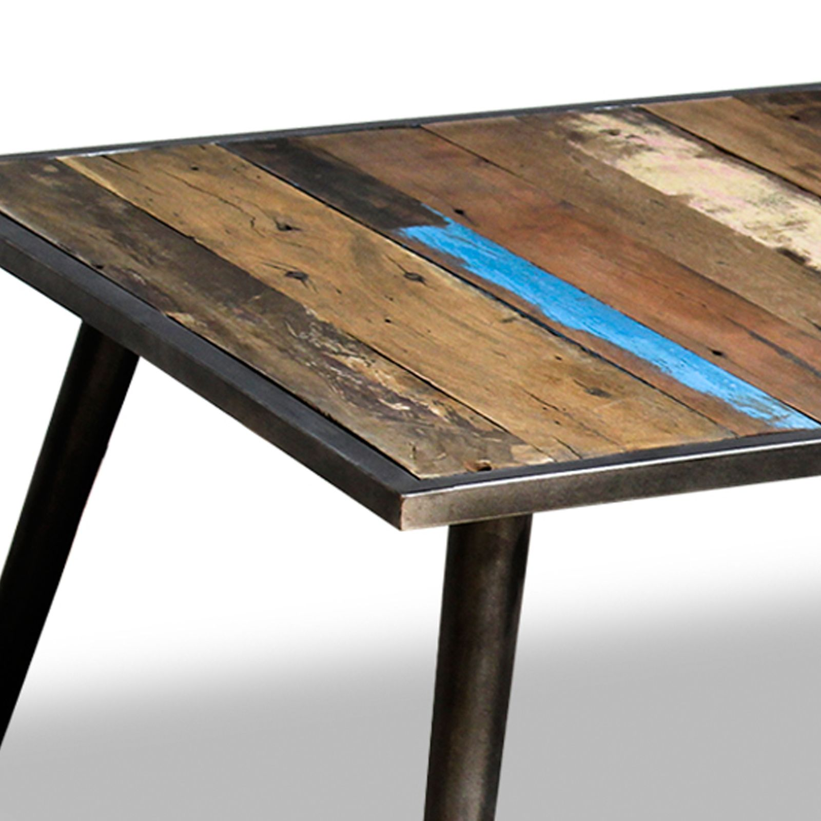 coffee table vintage style industrial design french furniture meja