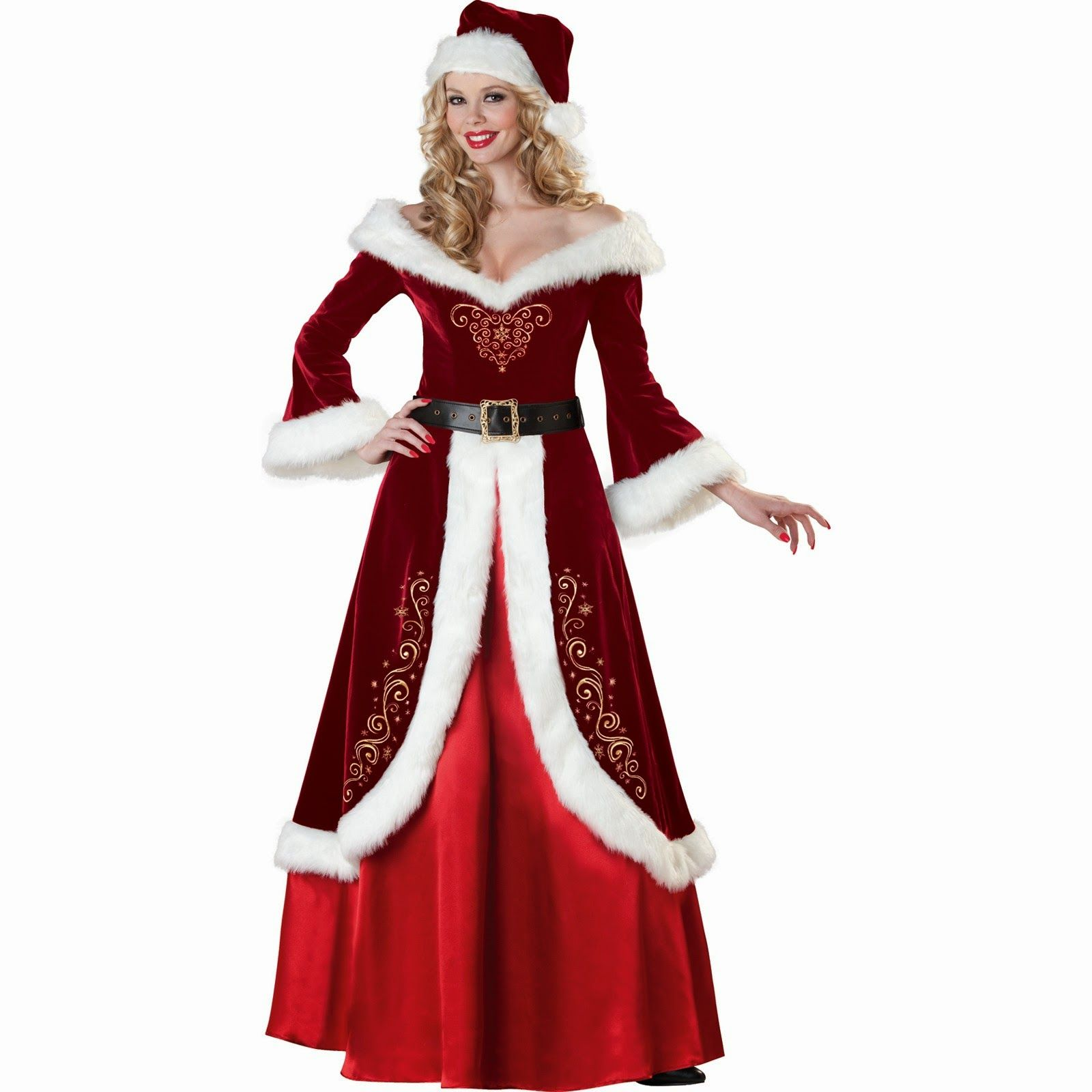 New Christmas Decorations White Christmas Dresses For Women Red And