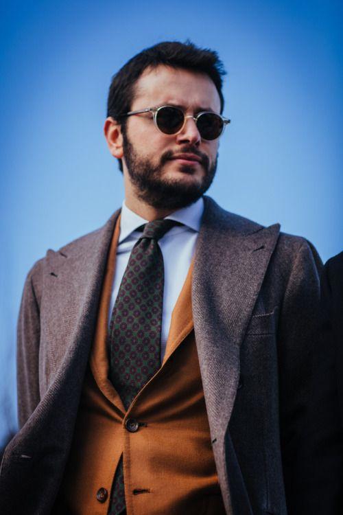 Zafer Dede Takablotaro Pitti Uomo Back In Session - Mens hairstyle zafer