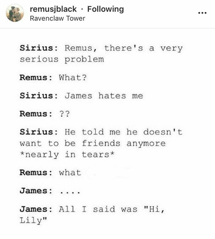 How Do I Not Doubt This Was A Weekly If Not Daily Occurrence Harry Potter Marauders Harry Potter Fanfiction Harry Potter Funny