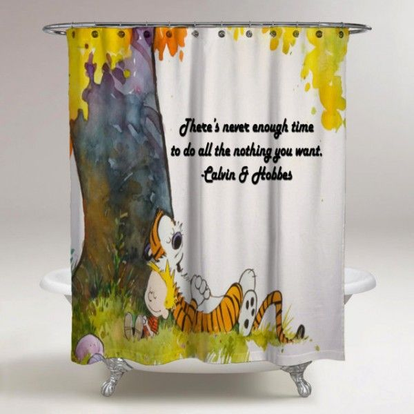 Calvin And Hobbes Quote Best Design Sleep Under The Tree Shower ...
