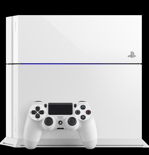Sony reveals Glacier White Playstation 4
