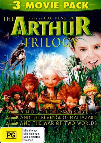 Arthur And The Invisibles Triple Pack Arthur And The Invisibles Childhood Movies Movies