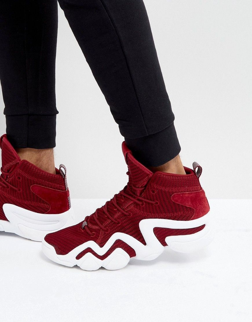buy popular 1b7f5 54008 ADIDAS ORIGINALS CRAZY 8 PRIMEKNIT SNEAKERS IN RED BY4366 - RED.  adidasoriginals shoes