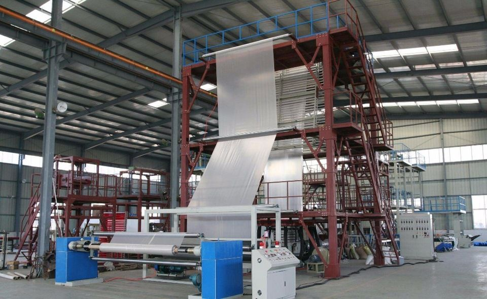 5 layer agriculture greenhouse film blown machine Tracy