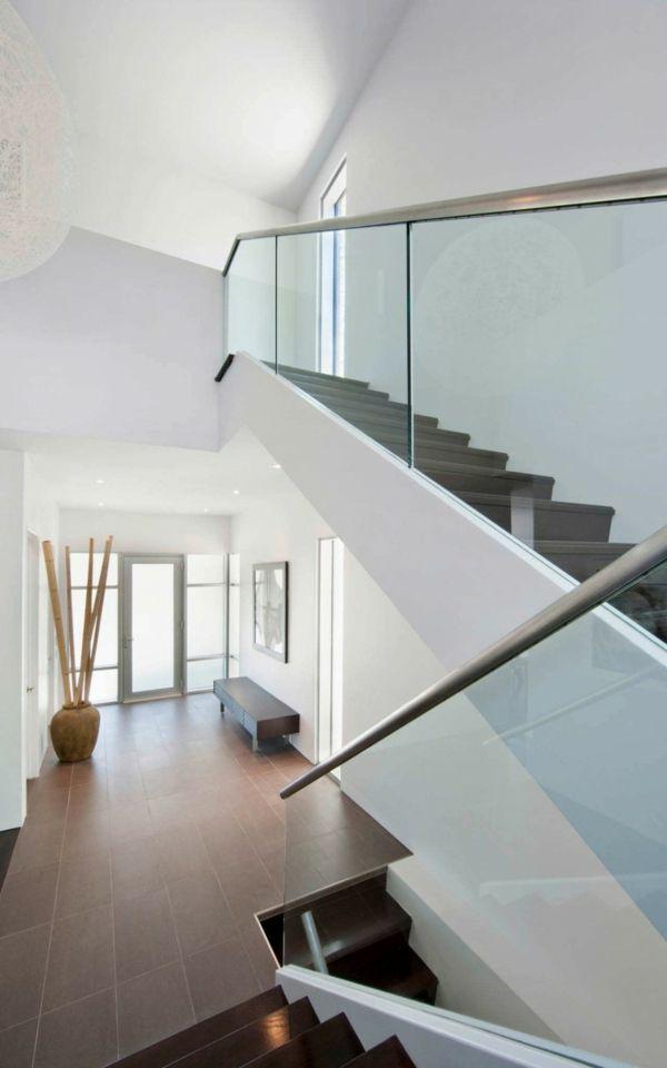 Holz + Glas Hausliebe Pinterest Holz, Glas und Treppe - wohnzimmer mit glaswnde