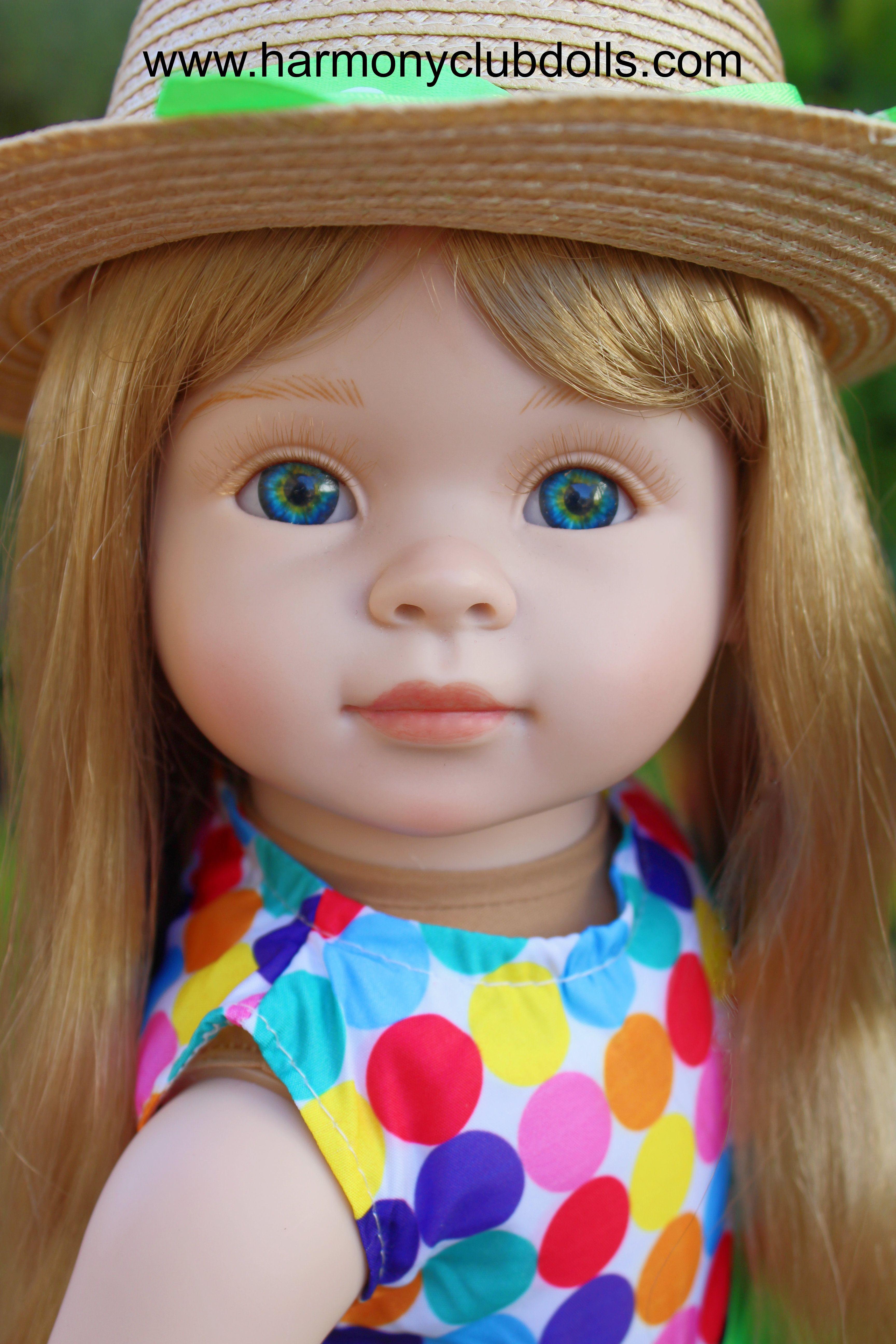 """HARMONY CLUB DOLLS 18"""" Dolls and 18"""" Doll clothes to fit American Girl www.harmonyclubdolls.com"""