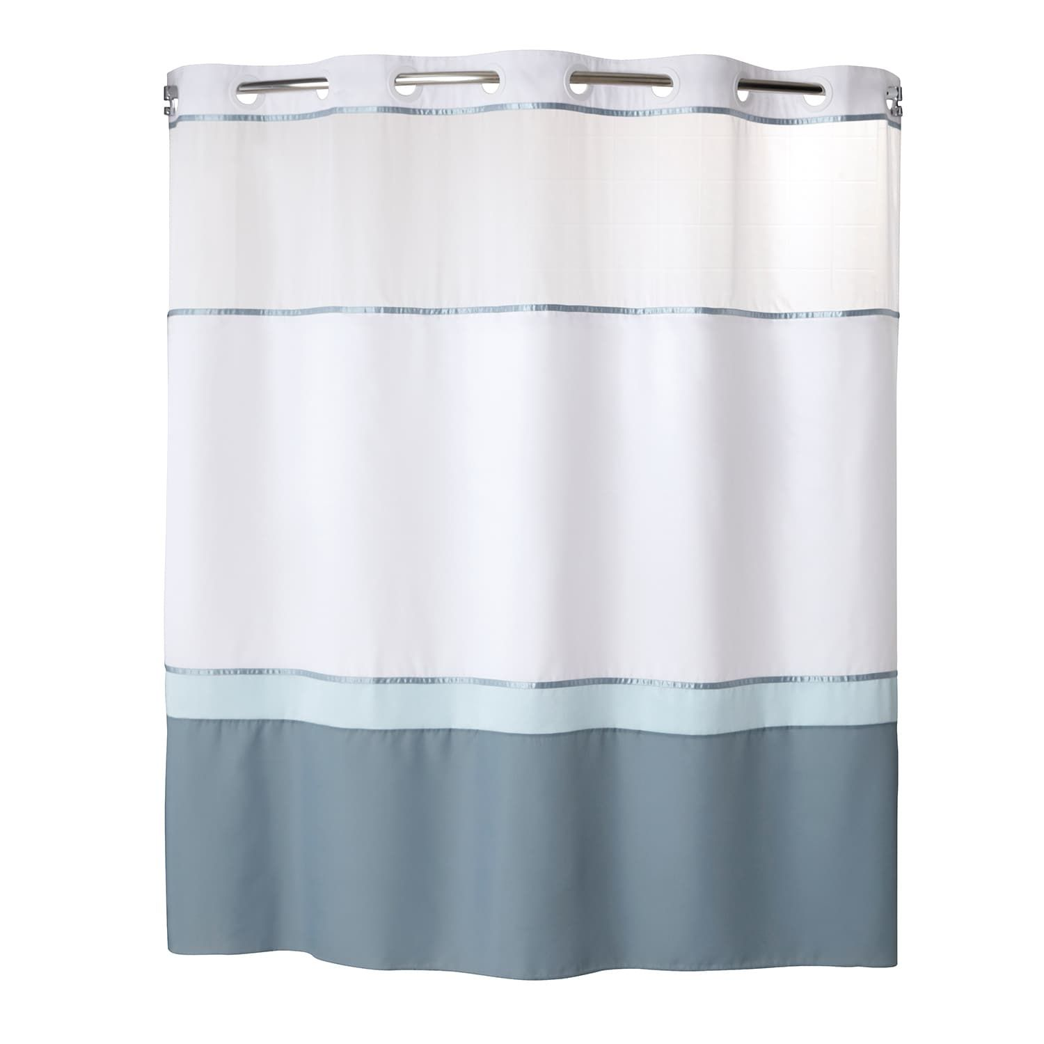 Windsor 2 Pc Fabric Shower Curtain Liner Set Fabric Pc