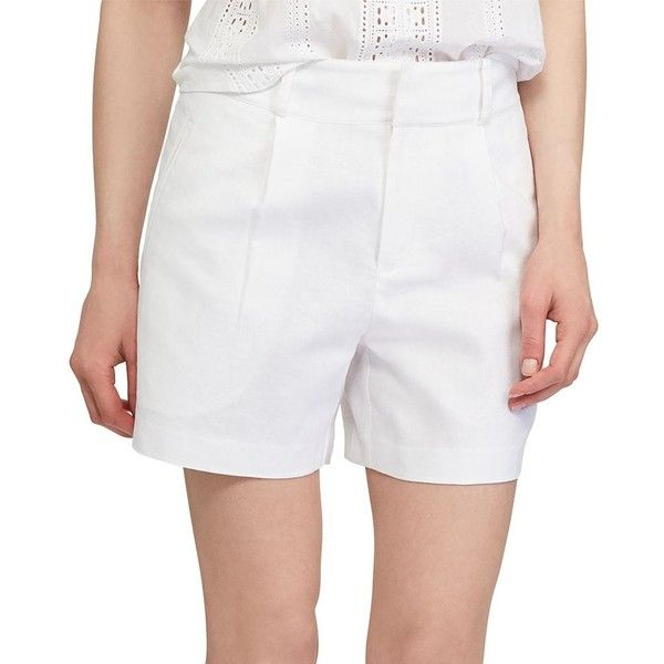 Women's Chaps Linen Blend Shorts ($32) Liked On Polyvore