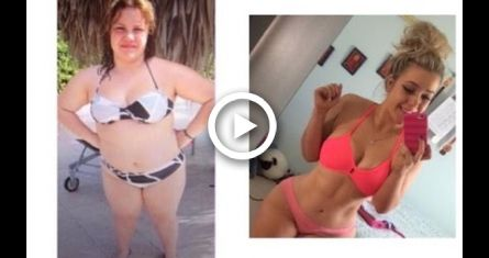 The MOST Inspirational and motivational weight loss story #fitness