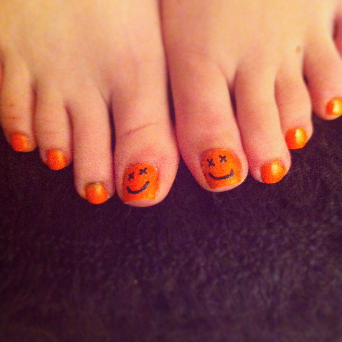 Halloween Toenails Halloween Nails Toe Nails Different Types Of Nails