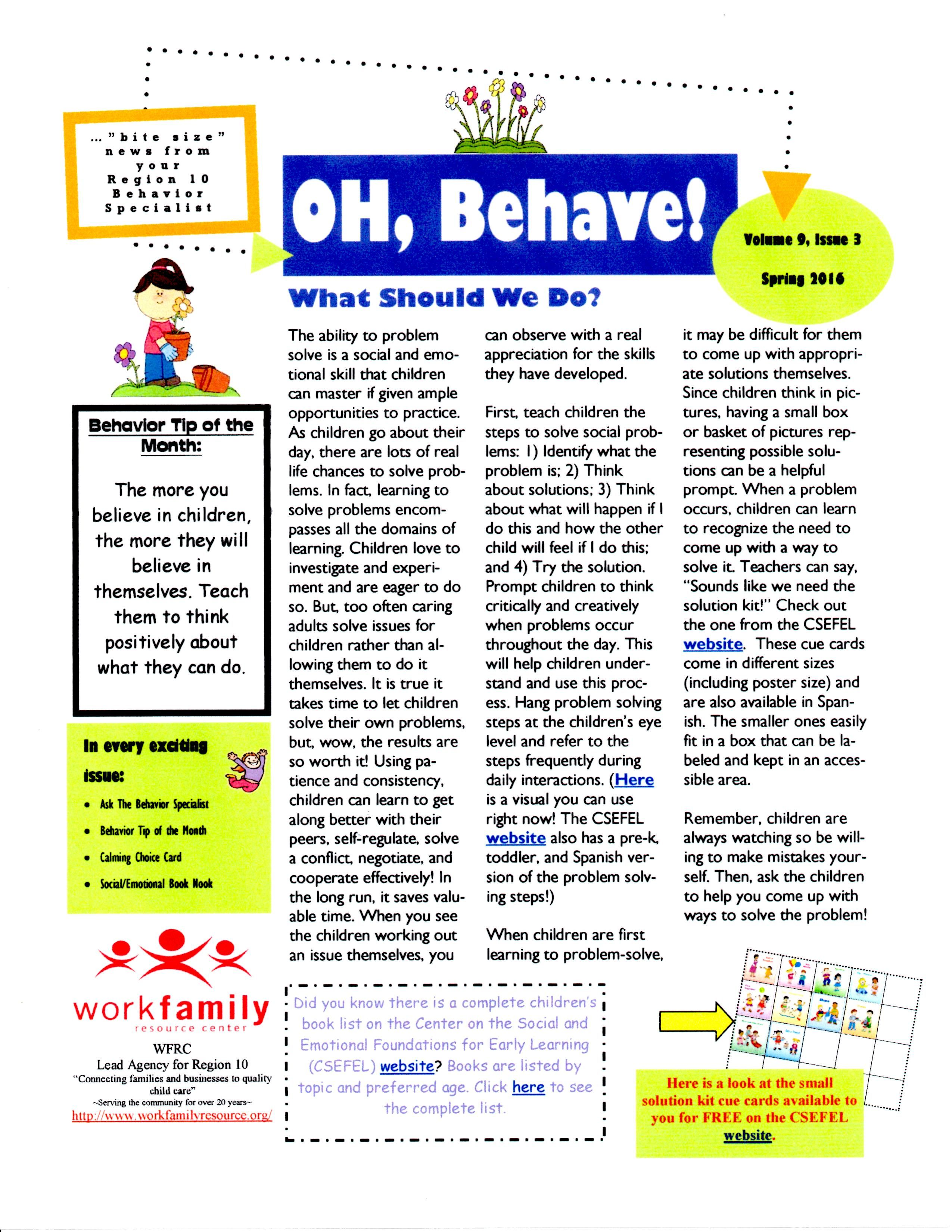 Oh Behave Spring Pg 1