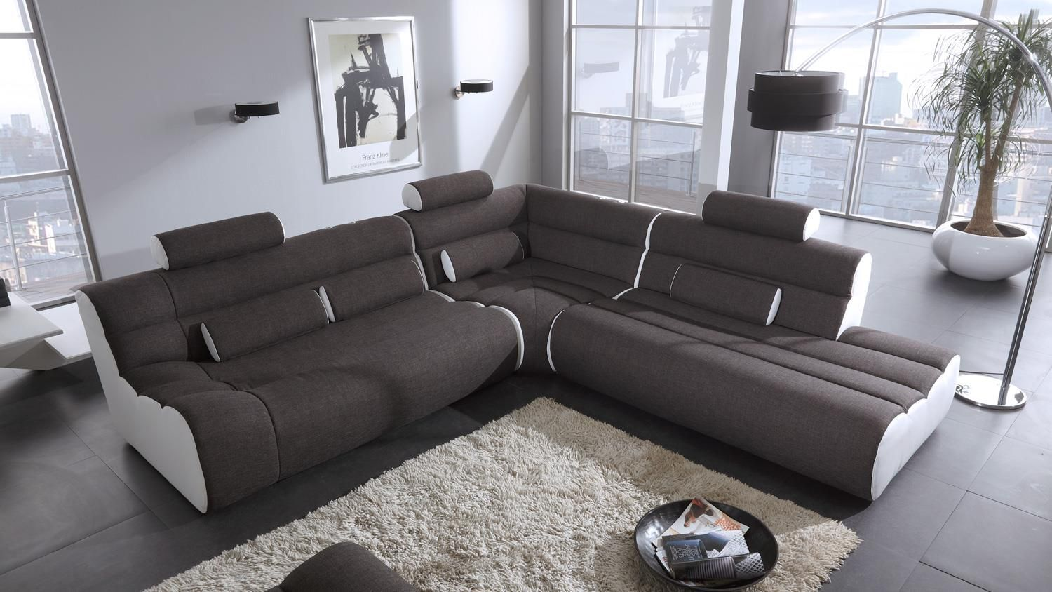 Wunderbar Amazing Finest Ecksofa Elements Eckgarnitur Lform Wei Grau X Cm With  Eckcouch L Form With Kche L Form Wei
