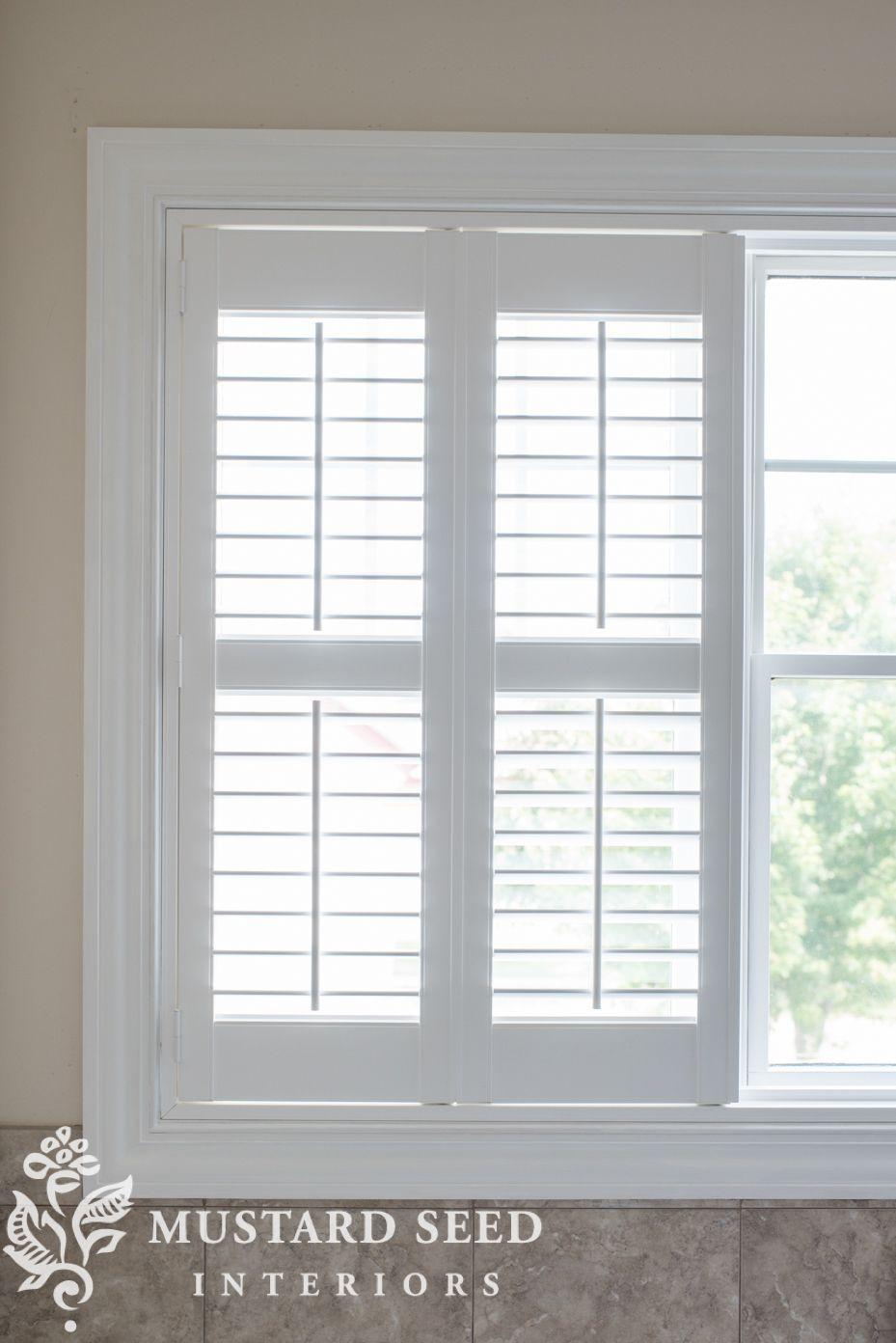 Bathroom Shutters Miss Mustard Seed In 2020 Kitchen Window