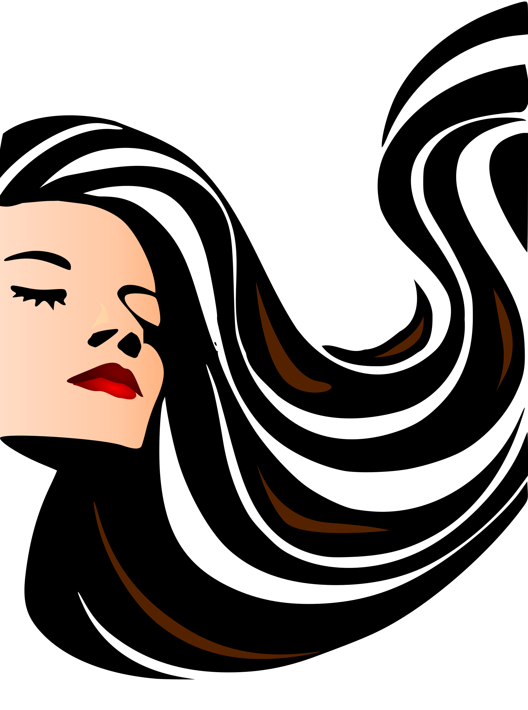 Log In Sign Up Upload Clipart Long hair styles