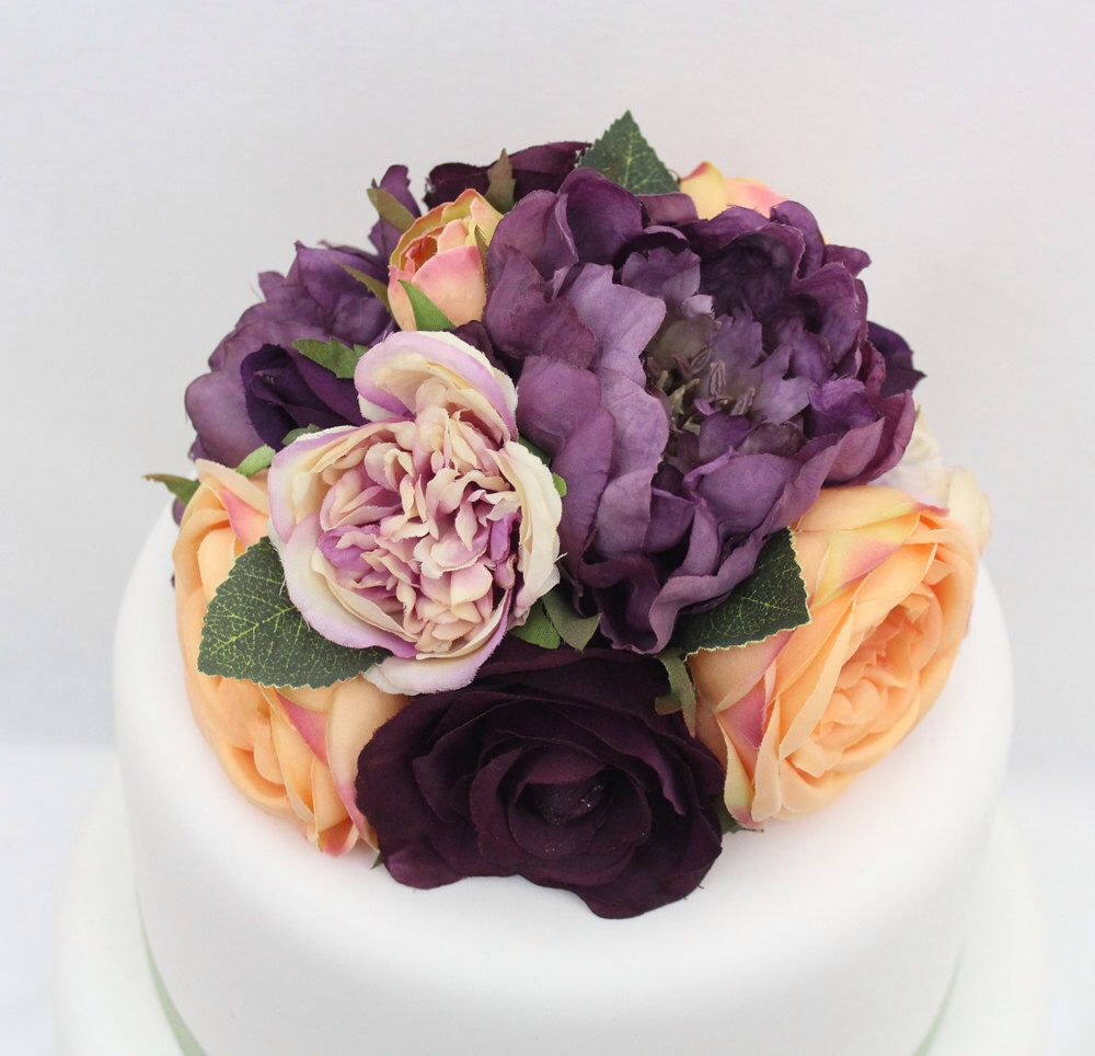 Silk Flower Cake Topper The Best Cake Of 2018