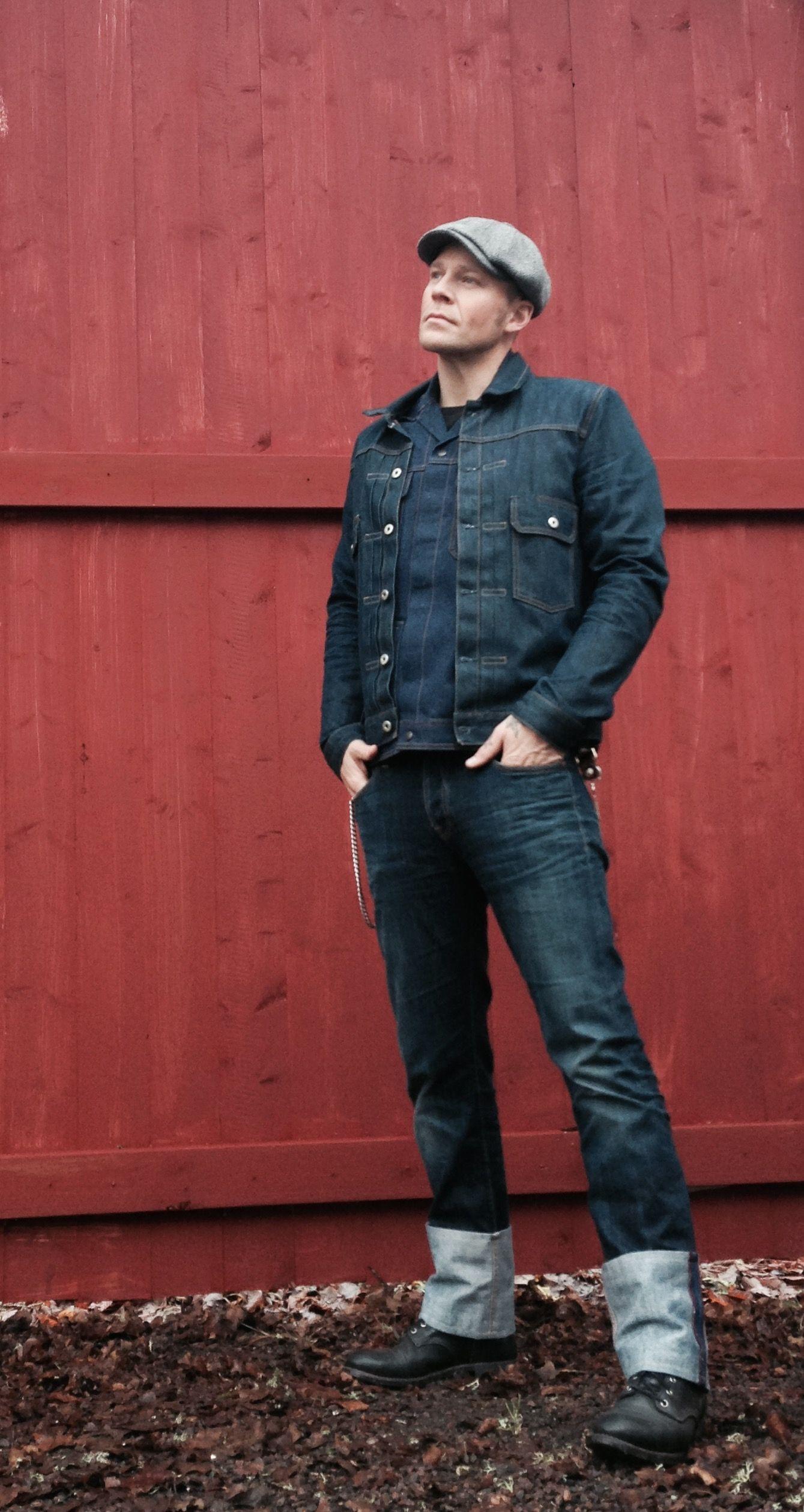 pin von auf style pinterest jeansjacken kleider machen leute und. Black Bedroom Furniture Sets. Home Design Ideas