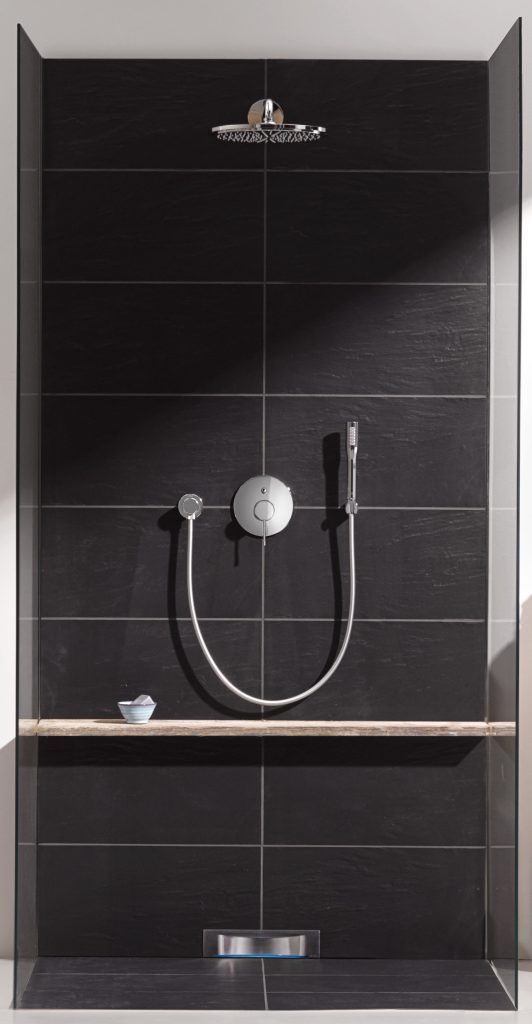 grohe essence shower head badkamer pinterest duschen badezimmer und b der. Black Bedroom Furniture Sets. Home Design Ideas