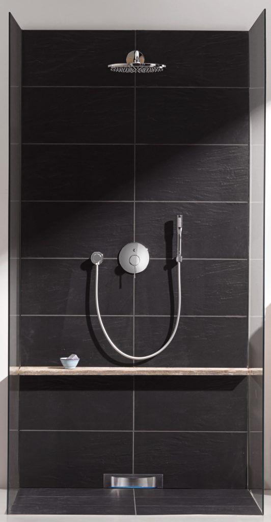 grohe essence shower head badkamer pinterest badezimmer armaturen und bad. Black Bedroom Furniture Sets. Home Design Ideas