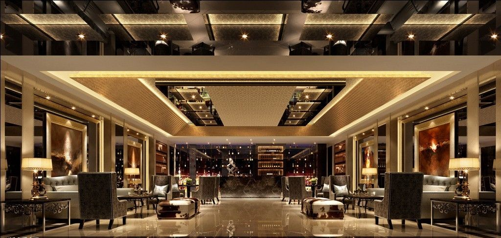 Amazing Stylish And Fancy Luxury Hotel Design Ideas With Modern ...