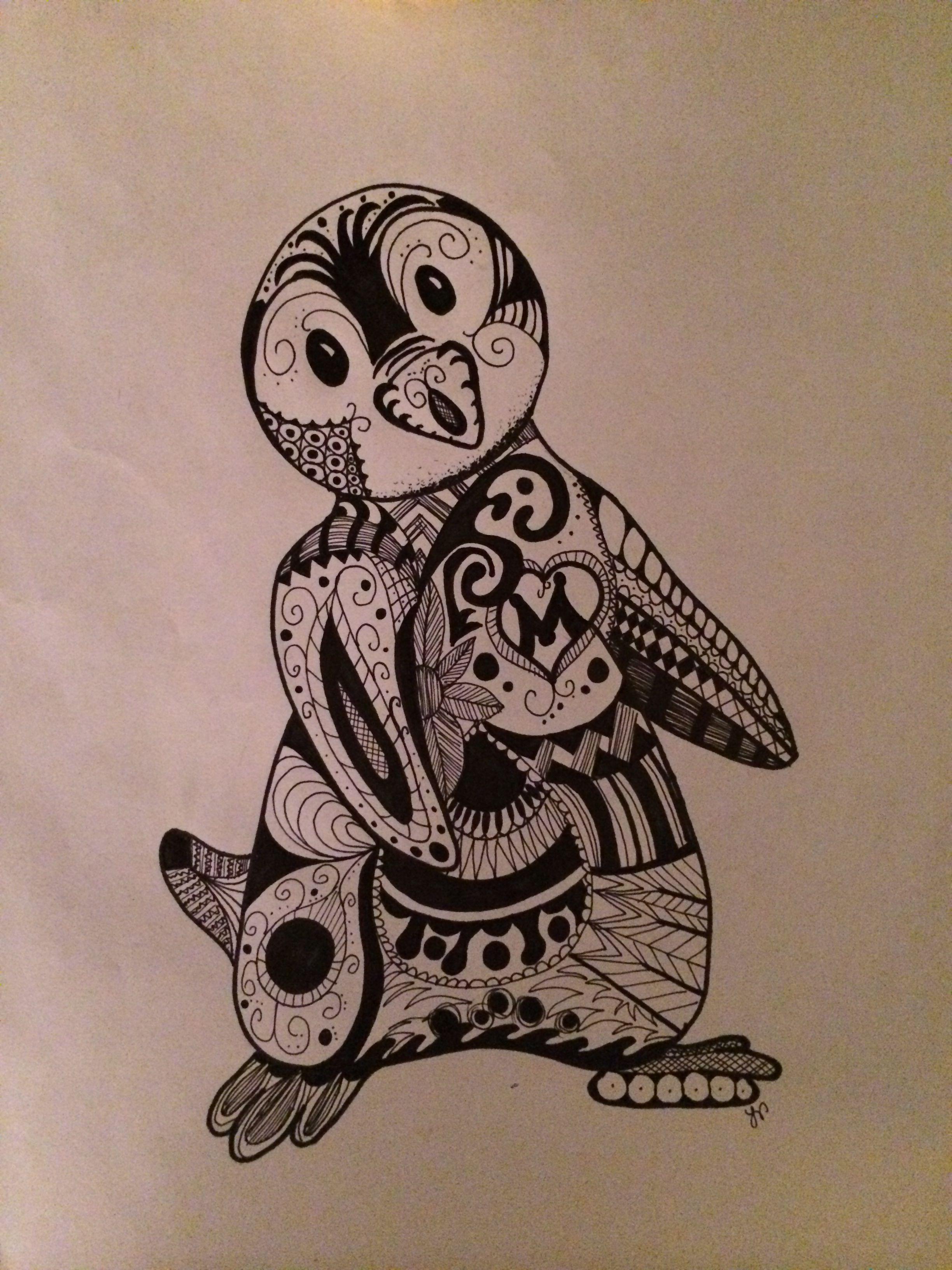 Drawings by me LAV #sharpie