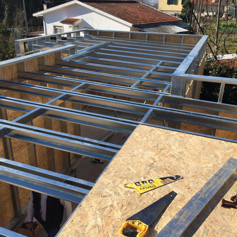 Pin De Arie Em Light Steel Frame Construcoes Metalicas Construcao De Casas Baratas Construcao De Casas