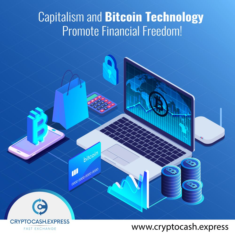 Do you know how cryptocurrency promotes financial freedom? Entrepreneurial advancements of Bitcoin technology promote financial freedom through a number of features including the decentralized system, mobiles apps, global acceptance, faster transactions, high transparency, low transaction costs & user-controlled networks. The #Bitcoin technology also offers efficiency, traceability & #security to #investors. Visit Cryptocash Express & see how #cryptocurrency works to bring #financial freedom.