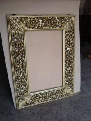 Marcos para espejos ejercicios pinterest marcos para for Espejos con marcos decorados