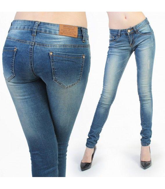 tr s beau jean slim avec effet d lav sur les cuisses slim sexy modegrossiste waw jeans. Black Bedroom Furniture Sets. Home Design Ideas