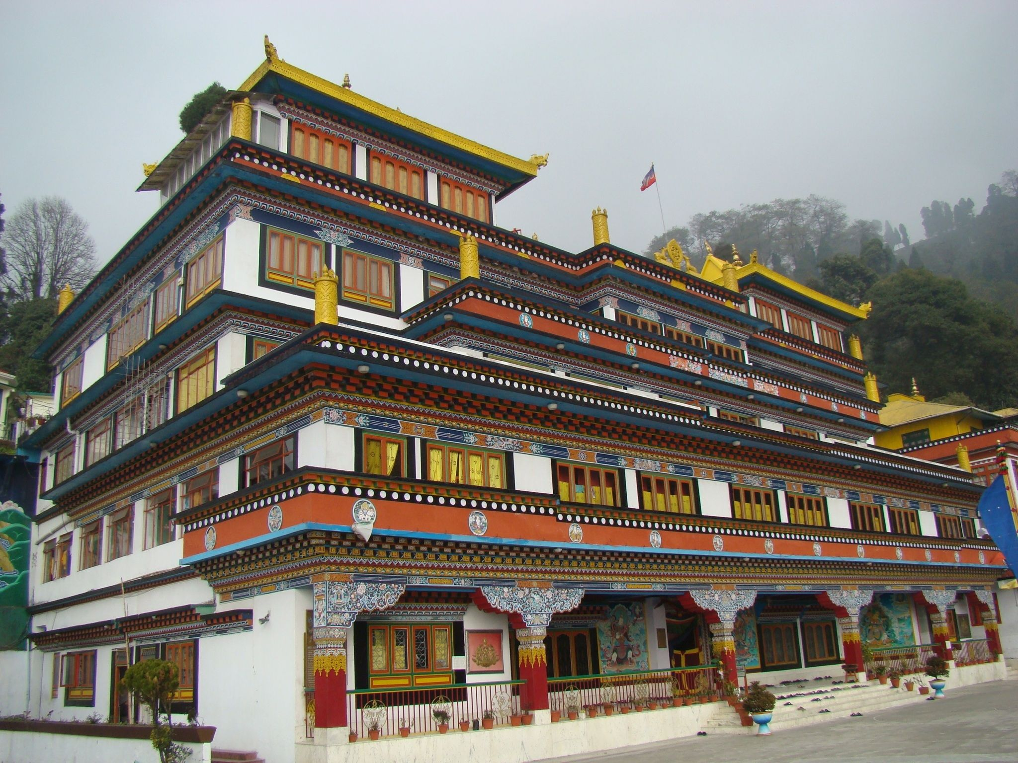 Druk Thupten Sangag Choling Monastery Darjeeling India
