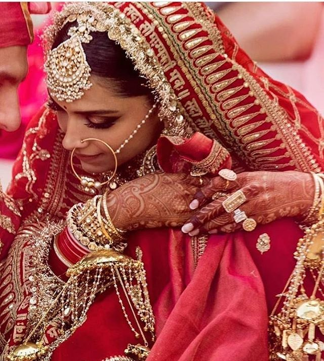Most Waited Picture Of The Year Are Out At The Official Accounts Of Ranveer And Deepika Ranveersi Indian Bridal Fashion Deepika Ranveer Wedding Guest Dress