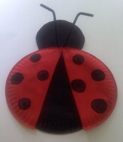 paper Plate Ladybug : paper plate lady bugs - pezcame.com