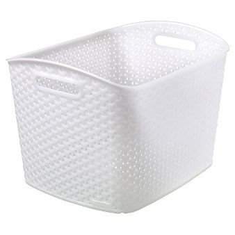 Y Weave Extra Large Storage Bin - White - Room Essentials™
