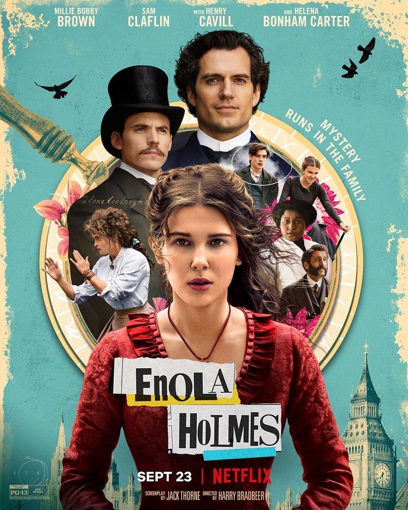 Descargar Enola Holmes Latino 1080p Full Hd Mega Mediafire Drive Peliculas En Netflix Holmes Película De Netflix