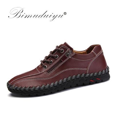 bimuduiyu luxury brand casual shoes large size 3847 men