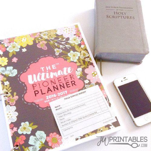 The Ultimate Pioneer Planner™ | JW Planner | Jw Pioneer ...