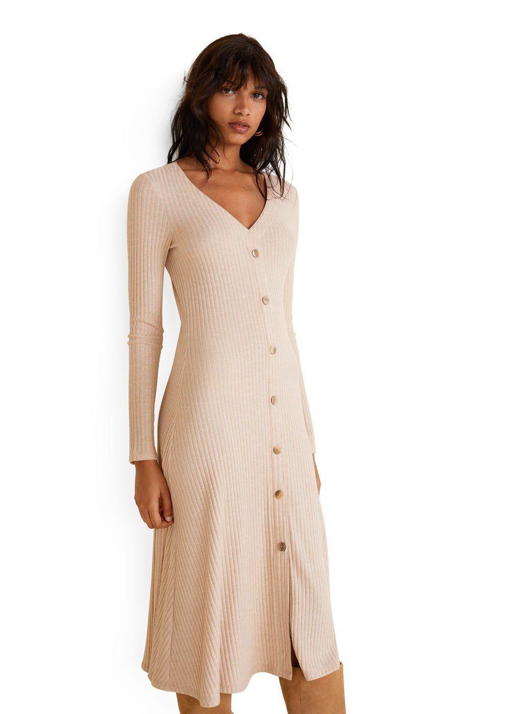 OTTO #MANGO #Bekleidung #Kleider #Damen #MANGO #Geknöpftes #Kleid