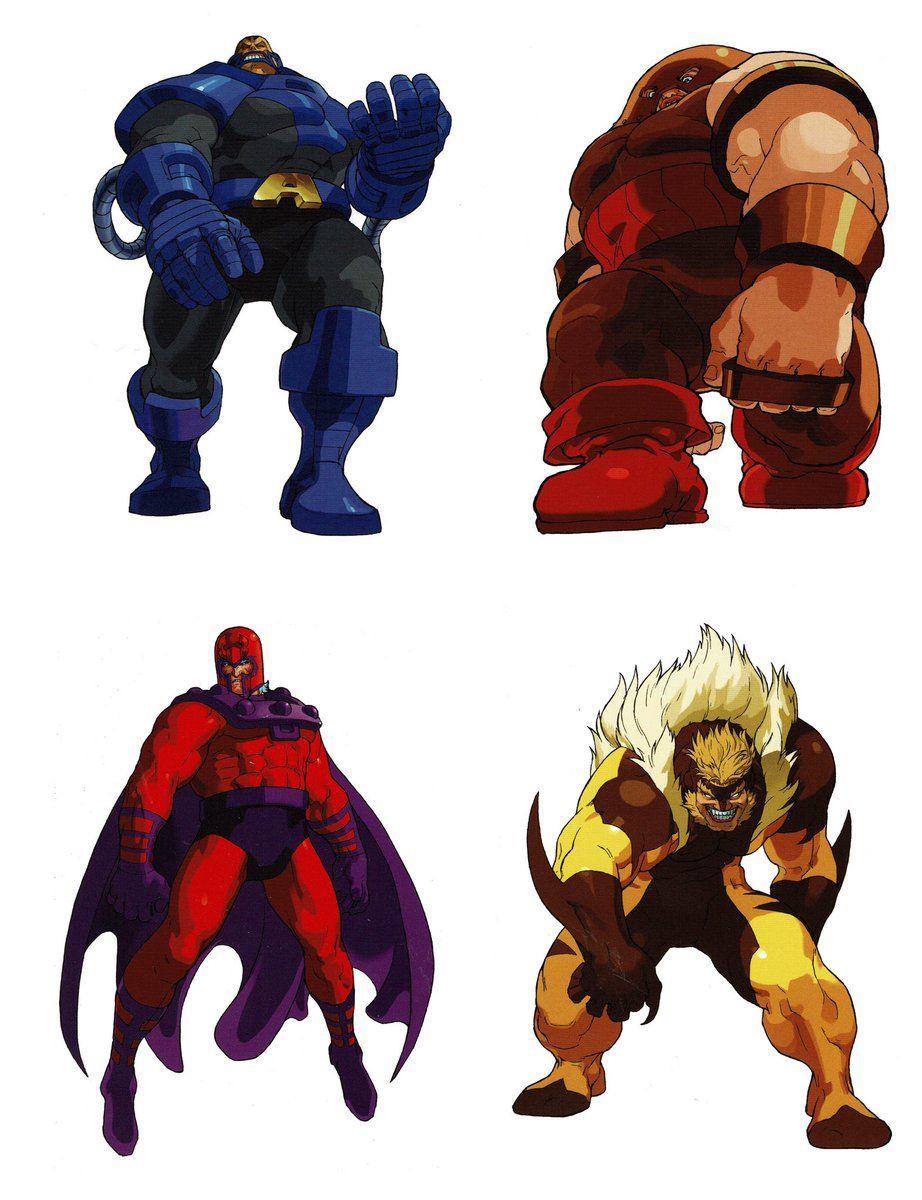 Videogameart Tidbits On Twitter X Men Vs Street Fighter X Men Character Artwork Capcom Art Punisher Comics Comic Art