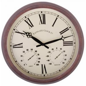 Fallen Fruit Roman Weather Station Wall Clock Wall Clock