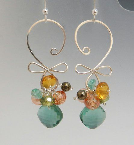 Carolina Creations | AB E G07ESEQZ Earrings | Fine Art Contemporary Gift Gallery