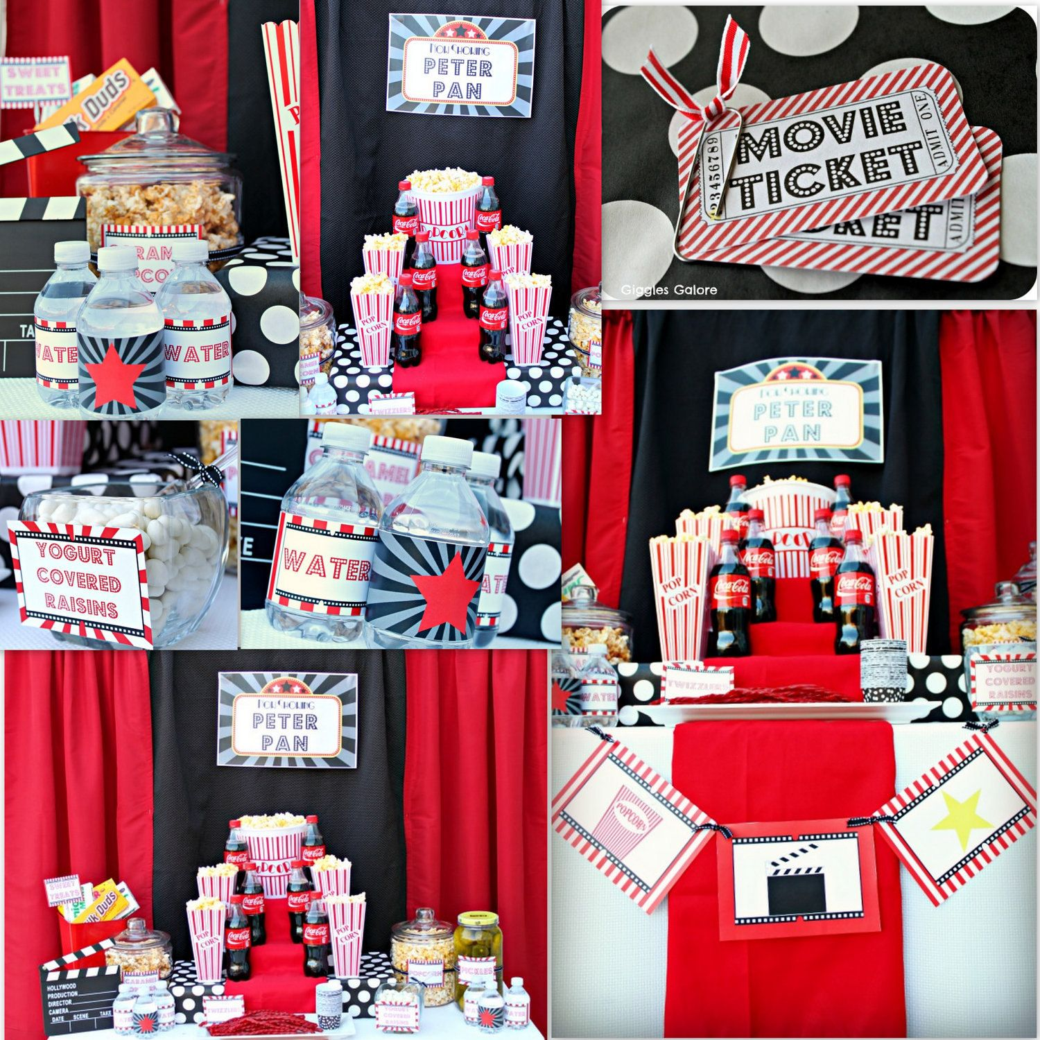 10 Images About Teen Science Themed Bedrooms On Pinterest: Movie Printable Party Package...DIY. $10.00, Via Etsy