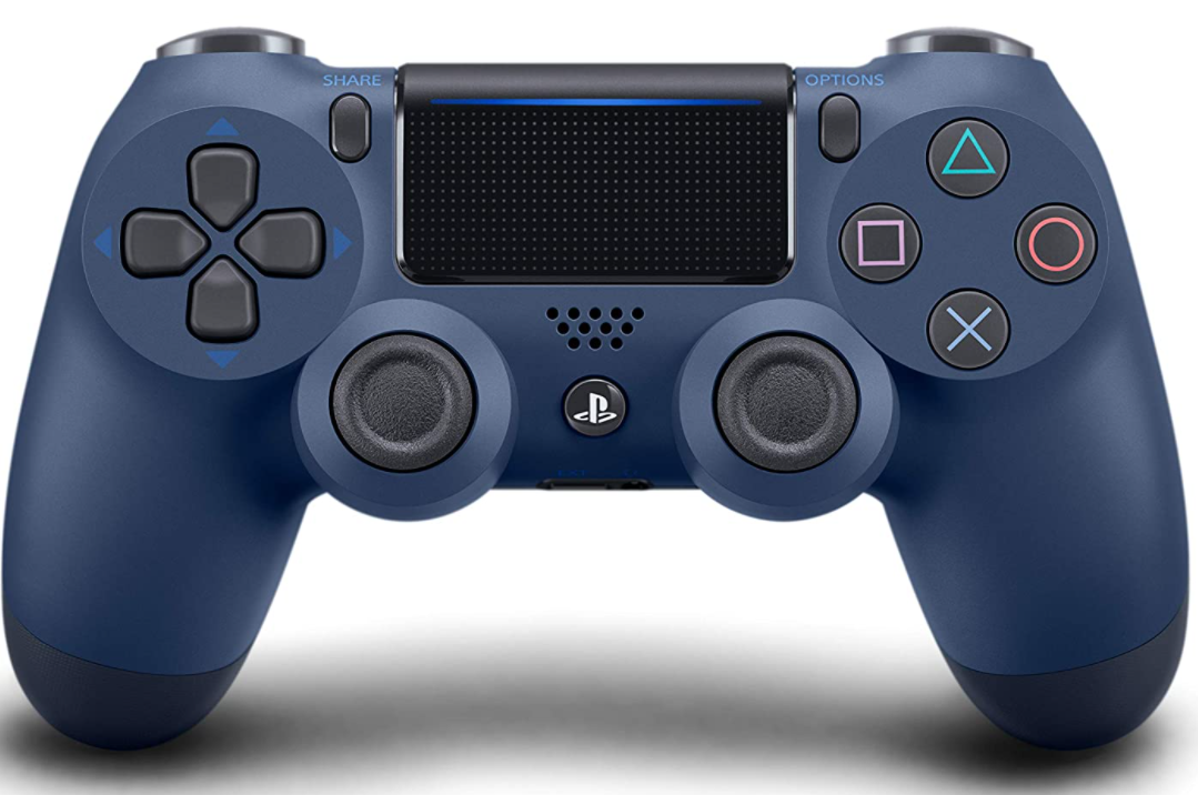 Dualshock 4 Wireless Controller For Playstation 4 Midnight Blue Dualshock Ps4 Wireless Controller Ps4 Controller