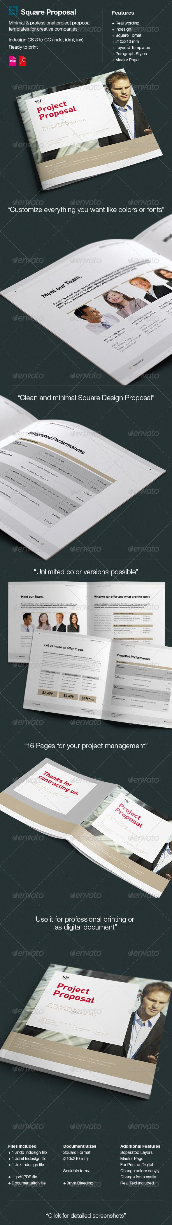 Proposal by egotype Proposal Square Design Features