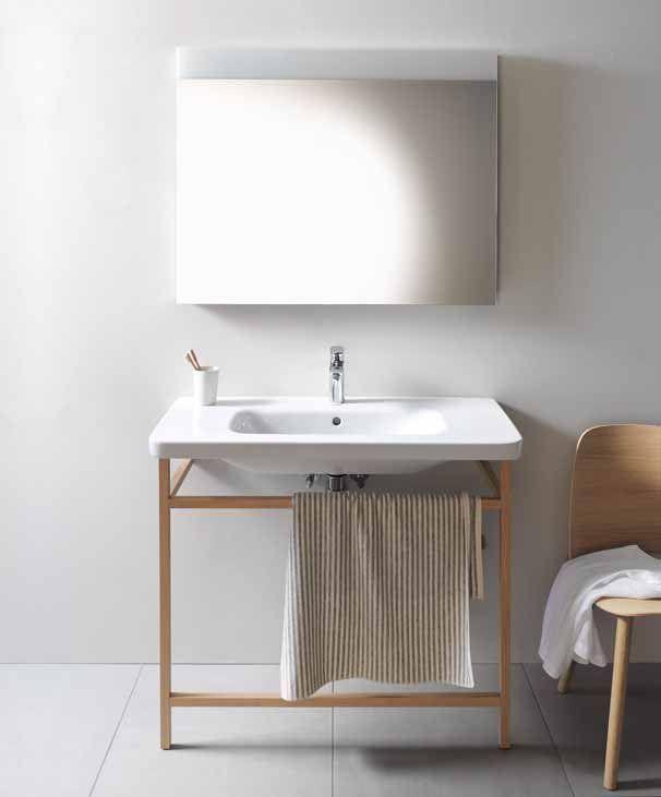 DURASTYLE Waschtischkonsole Waschtischkonsole, Italia und Partner - moderne kleine badezimmer