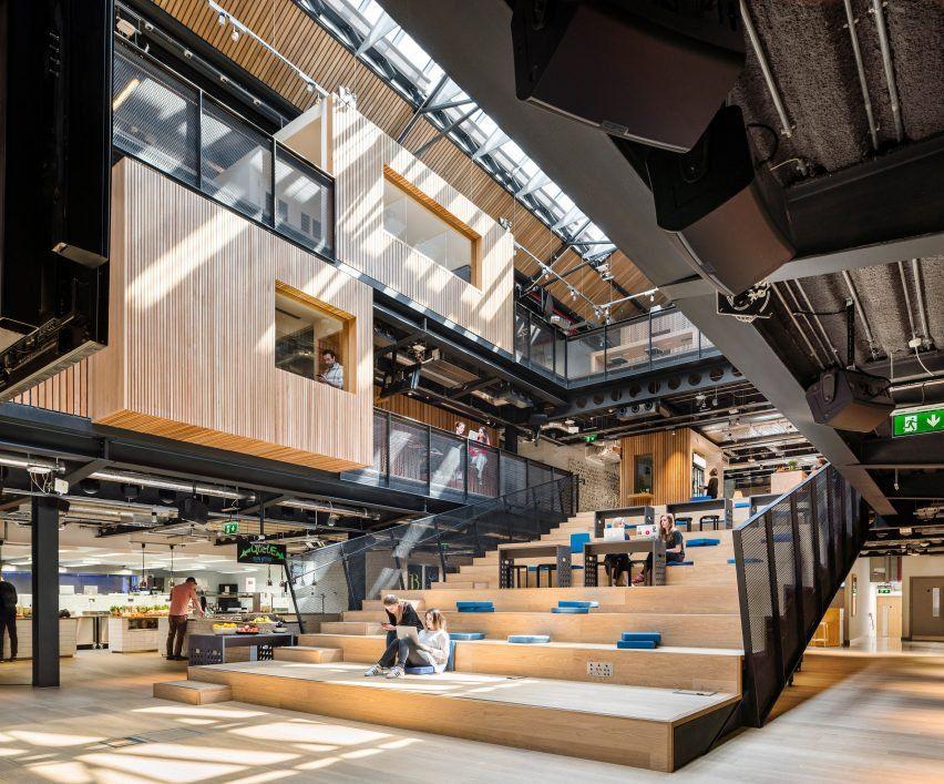 dublin office space. airbnb dublin office interior space
